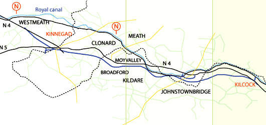 The M4/M6 Kilcock to Kinnegad motorway is to be run as a toll road.