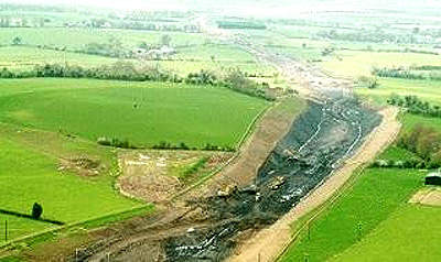 It is expected to take three years to construct The M4/M6 Kilcock to Kinnegad motorway.