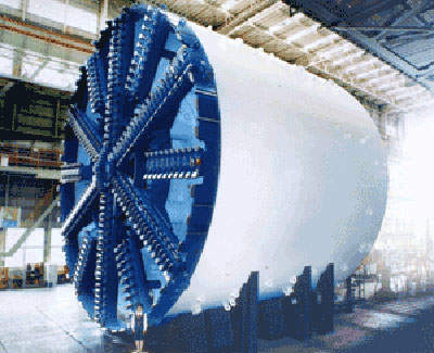 Seven tunnel boring machines will be used in the Madrid Calle 30 project.