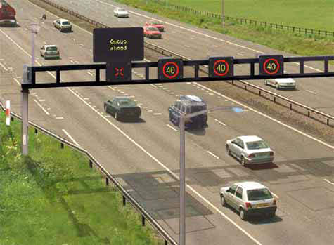 This M42 Active Traffic Management (ATM) scheme will combine new technologies with well-known motorway traffic management techniques.
