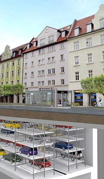 Munich is building an automated, underground parking system in response to growing congestion.