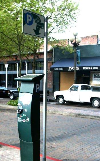 The initial plan is to provide 1,300 parking pay stations across all of the city districts phased in over a three-year period.