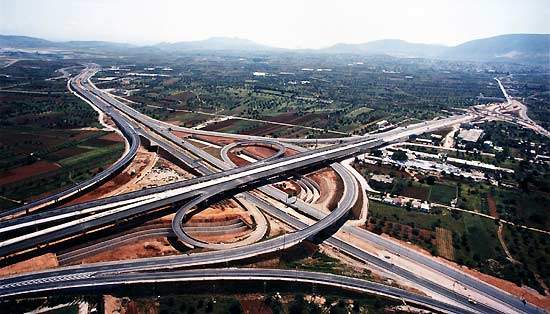 The Attiki Odos is a cutting edge motorway in Europe, meeting the highest design standards for high-speed toll motorways.