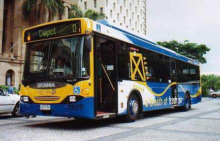 "Brisbane Transports new Volgren Body Scania Gas Bus ""625"".."