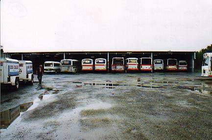 Another bus depot in Brisbane.