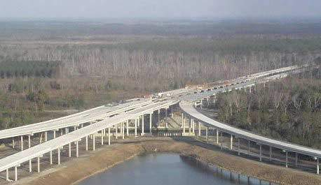 The Conway Bypass is a fully controlled access highway located in Horry County just North/Northeast of Conway, South Carolina.