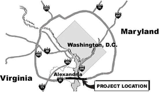 The Woodrow Wilson Bridge project had two major objectives: a replacement bridge and four adjacent interchanges.
