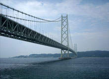 The world's longest suspension bridges