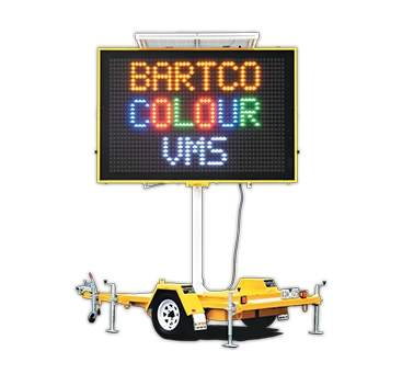 portable variable message sign