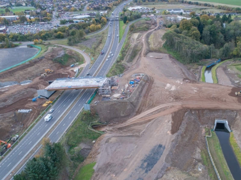 Phase one of the project is scheduled for completion in 2019. Image courtesy of Perth & Kinross Council.