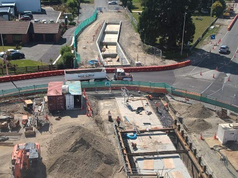 The upgrade will add pedestrian crossings and cycle facilities. Credit: NZ Transport Agency.