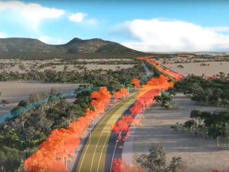 The Beaufort to Ararat road upgrade is a part of the A$672m ($530) Western Highway Upgrade plan. Image courtesy of Ararat Rural City Council.
