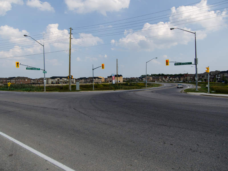 The estimated investment of the Highway 427 expansion project is $463m.