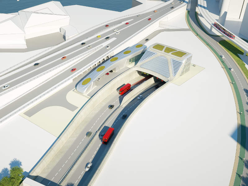 The tunnel is expected to become operational in 2023. Image courtesy of TfL.