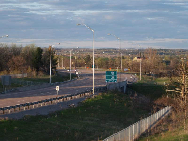Highway 427 expansion works
