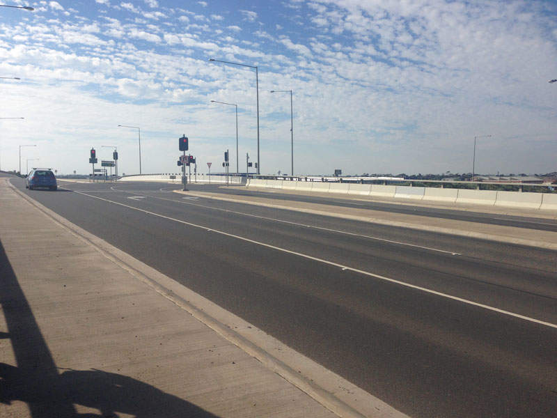 The Palmers Road Corridor project will develop a 16km-long arterial road between the Western Freeway and the Calder Freeway. Credit: Philip Mallis.