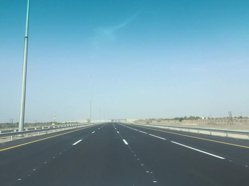 The Al Batinah Expressway in Oman stretches over a length of 270km. Image courtesy of MOTC – Sultanate of Oman.