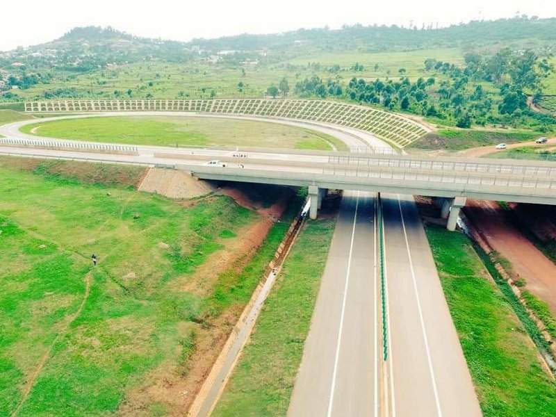 Kampala-Entebbe Expressway is Uganda's first ever toll road. Image courtesy of Ministry of Works & Transport.