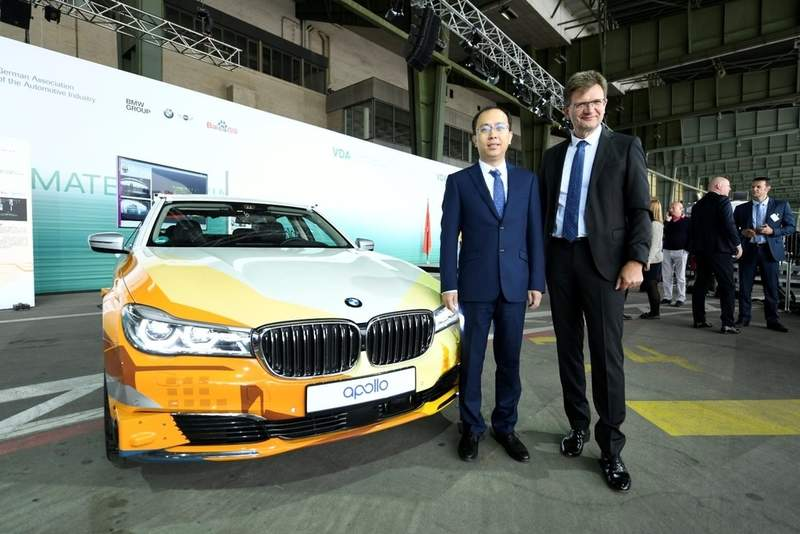 Baidu and BMW