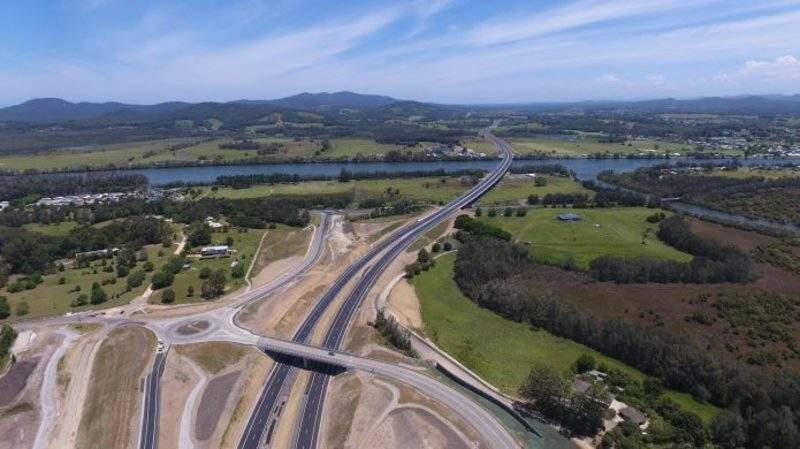 Pacific Highway upgrade work