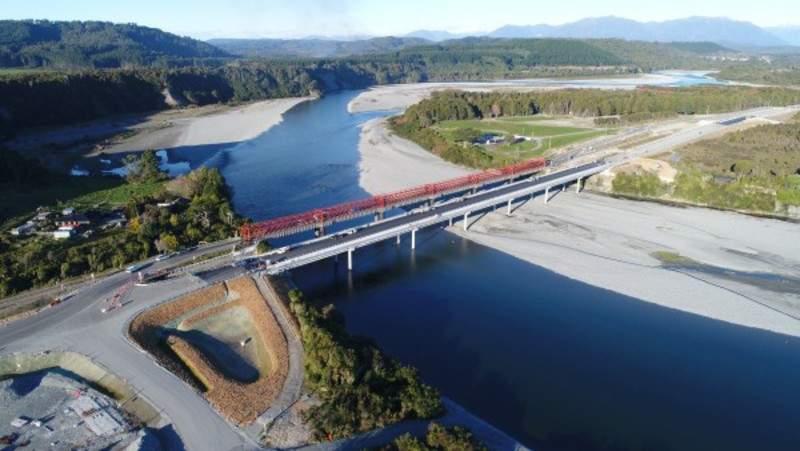 Taramakau River bridge