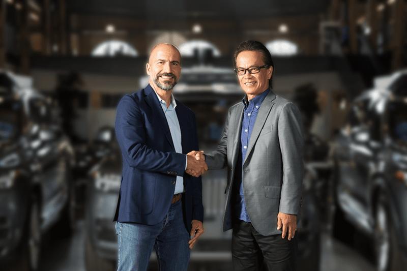uber and toyota self-driving development