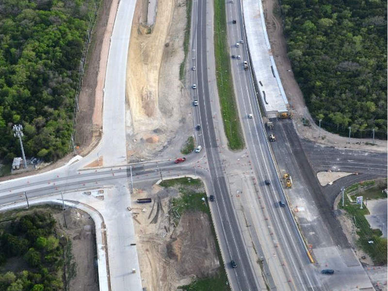 The 183 South Expressway is under construction between US 290 and SH 71. Image courtesy of The Central Texas Regional Mobility Authority.