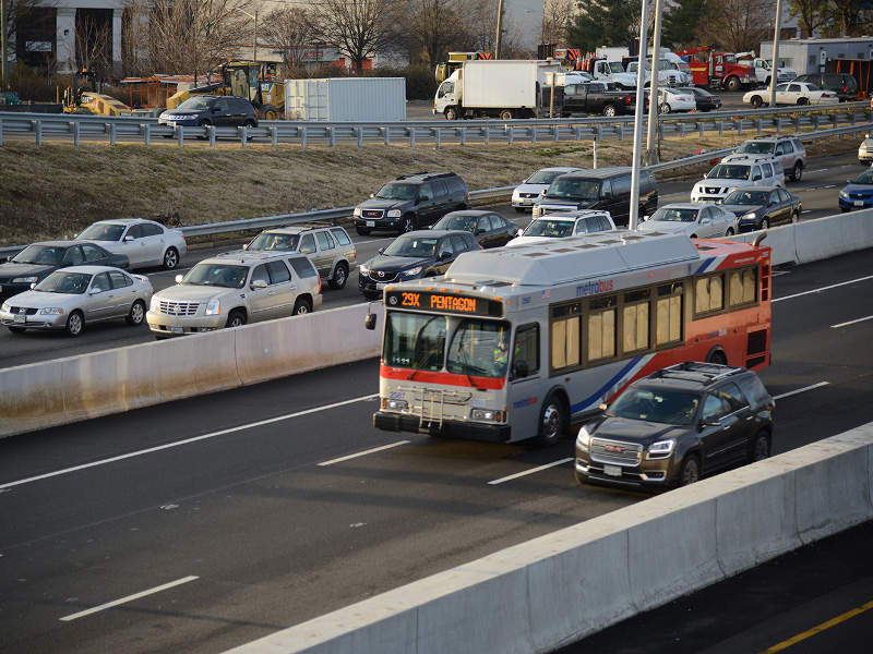 The project involves the addition of 12.8km-long express lanes on I-395. Image courtesy of Transurban (USA) Operations Inc.