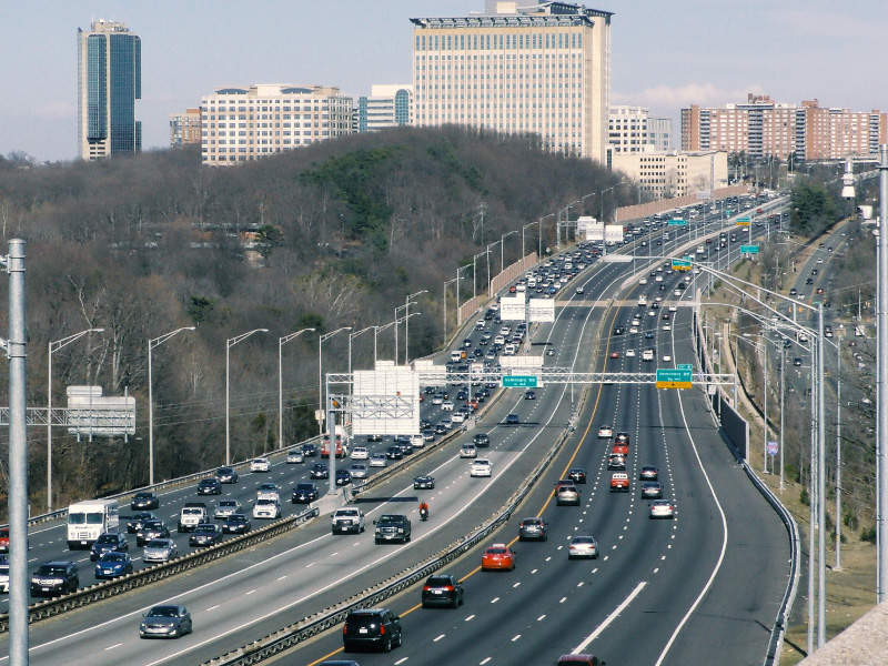 395 Express Lanes project will create a third reversible lane on I-395. Image courtesy of Transurban (USA) Operations Inc.