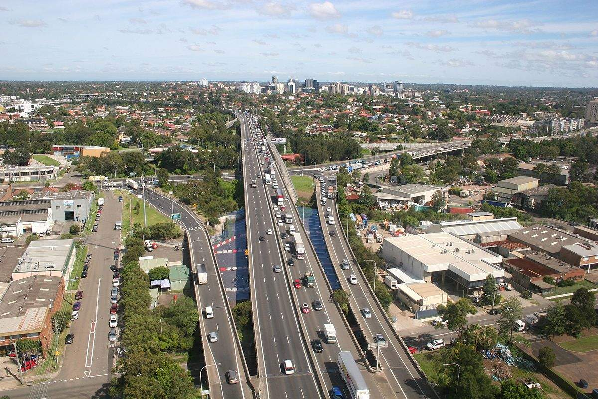 WestConnex motorway project