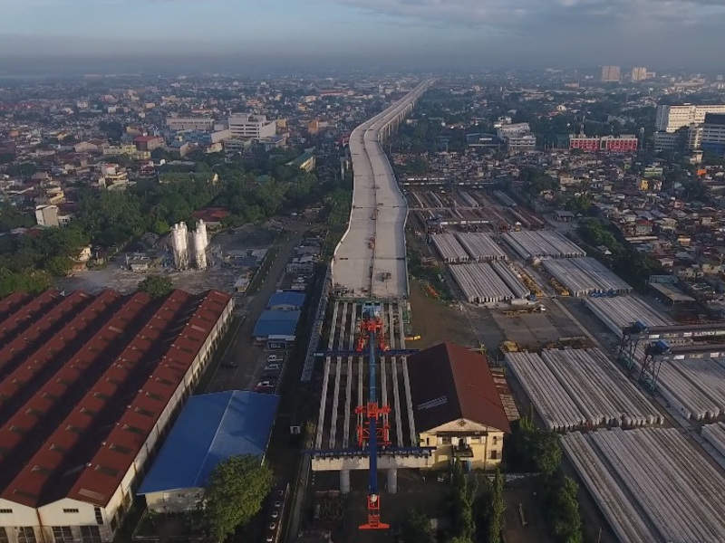 The Segment 10-R10 exit ramp project is expected to be completed by the end of 2019. Image courtesy of NLEX CORPORATION.