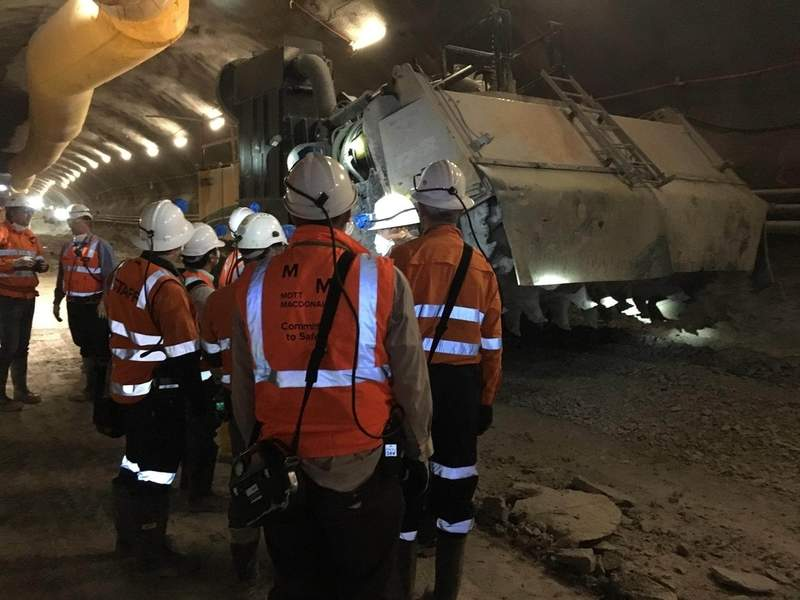 tunnelling works australia
