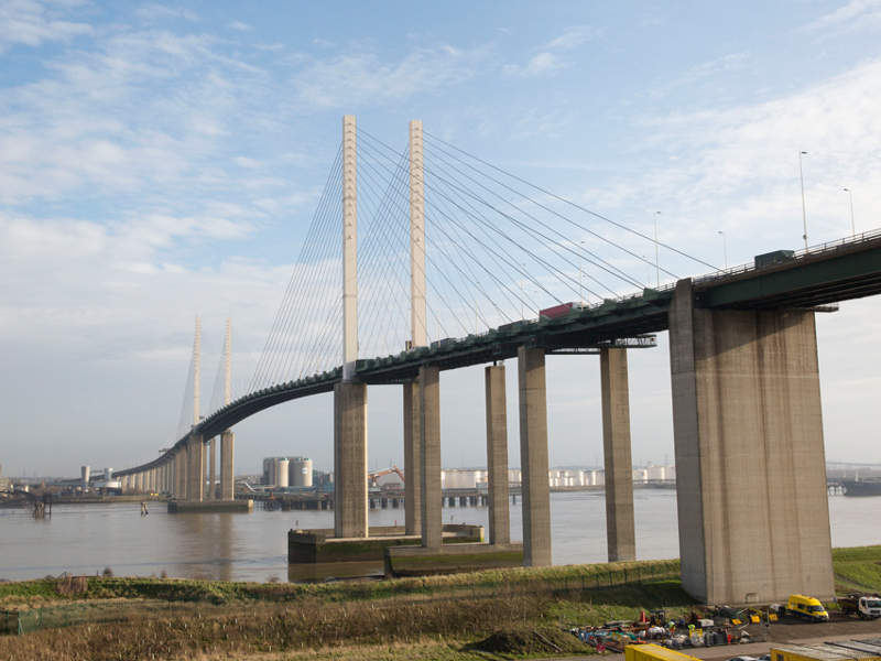 The new crossing will reduce congestion at Dartford Crossing and improve connectivity. Image courtesy of Crown.