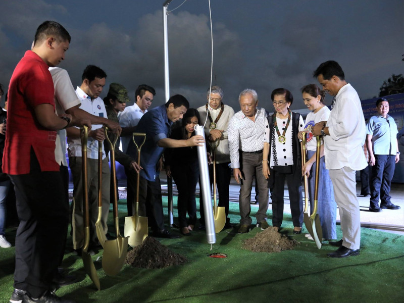 Ground-breaking ceremony for the Panguil Bay bridge was held in November 2018. Image courtesy of Philippine Information Agency.