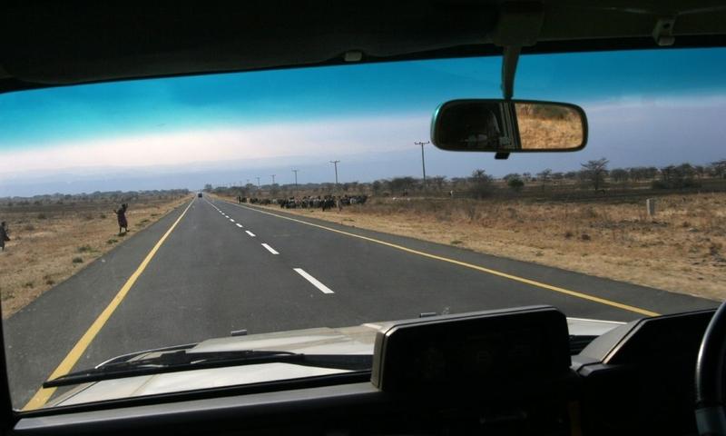 Kenya-Tanzania highway