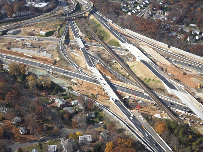 I-66 Outside the Beltway Project will transform a 35km-long I-66 segment in Northern Virginia into a multi-modal corridor. Image courtesy of Virginia Department of Transportation.