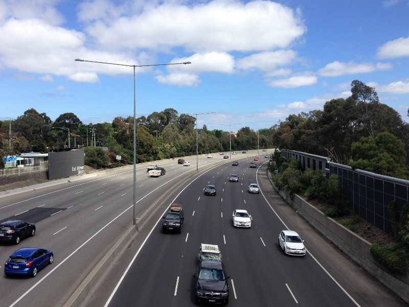 The Monash Freeway upgrade is being jointly financed by the Australian and Victorian governments. Image courtesy of Philip Mallis.