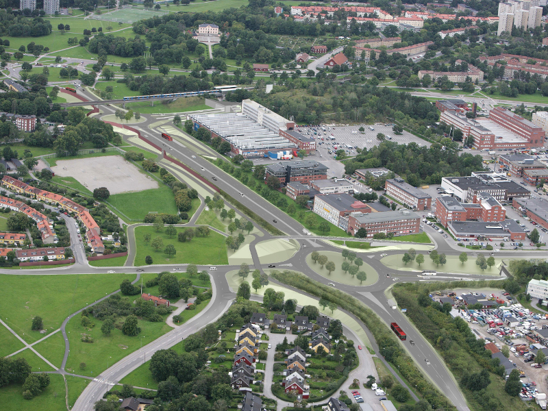 E4 The Stockholm Bypass is being developed by the Swedish Transport Administration (STA). Image courtesy of Skanska.