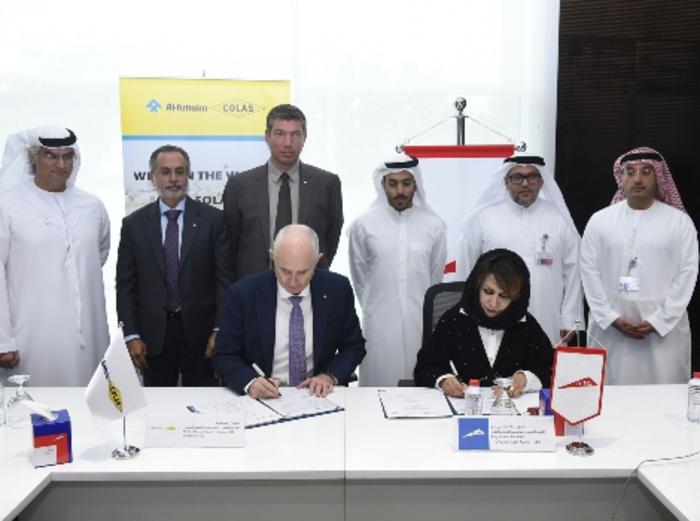 Dubai's RTA and Al-Futtaim Colas