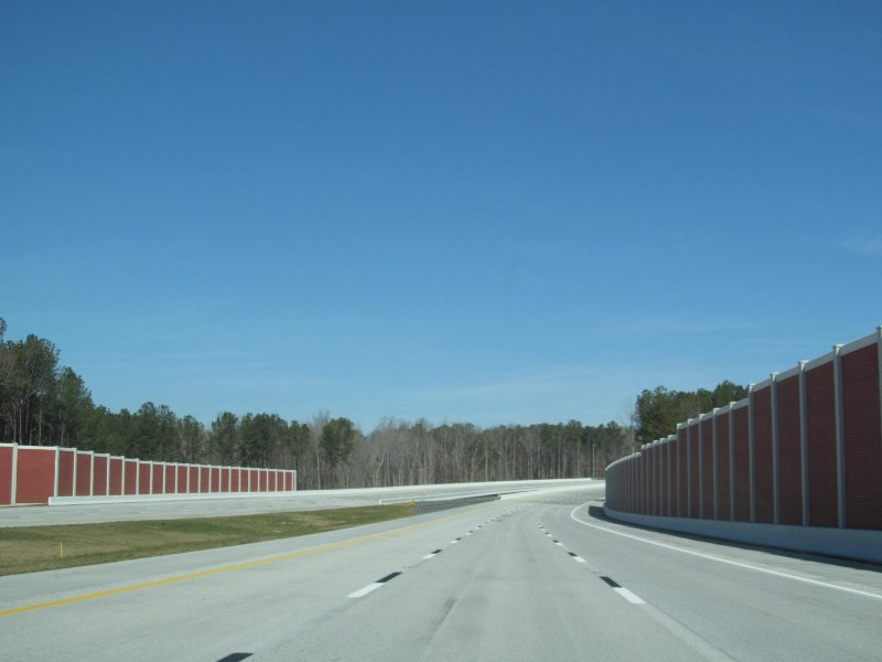 The Complete 540 project will complete the outer loop of NC-540 around Raleigh. Image courtesy of Doug Kerr.