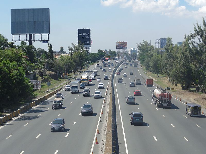 Quezon toll road