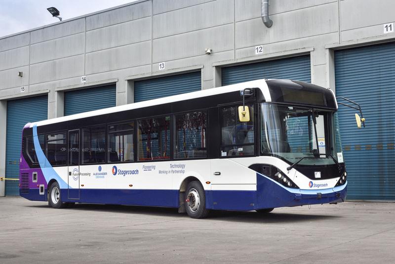 self-driving bus