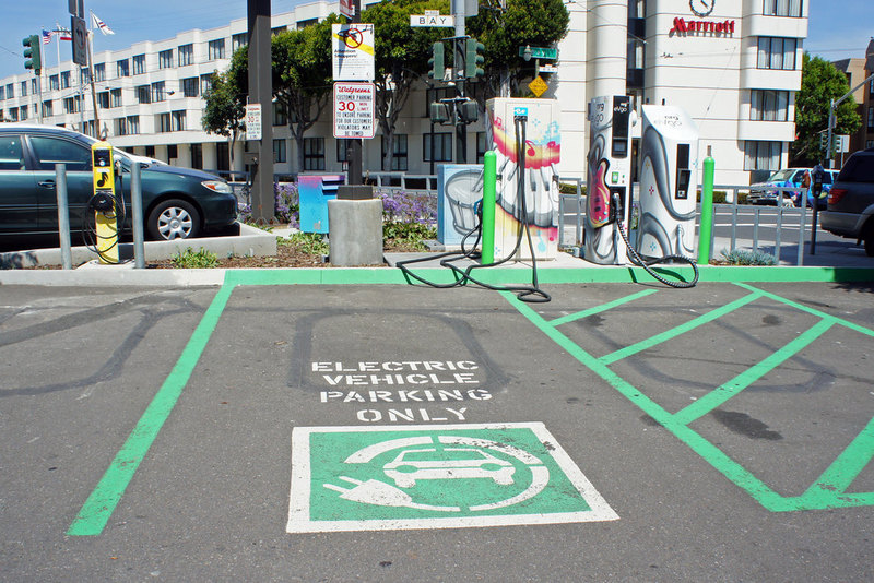 EVs charging stations