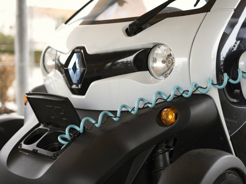 renault electric charging