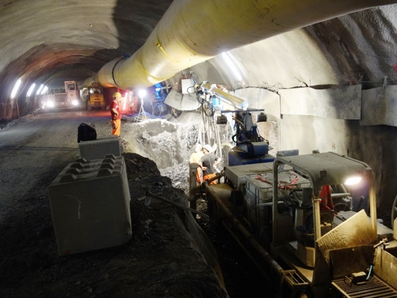 The twin tubes of the tunnel will be connected through ten cross passages. Image: ©Erik Neun, EDR GmbH.