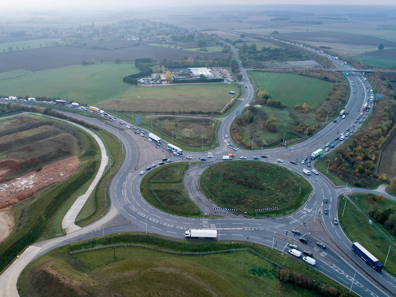 Construction of the project is expected to begin between 2021 and 2022. Image courtesy of Highways England.