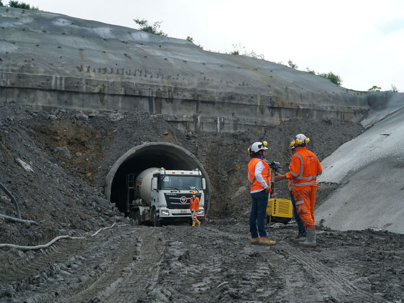 The highway will include two tunnels with a total length of 5.96km. Credit: Cocoa Route.
