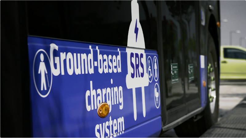Ground charging electric vehicles