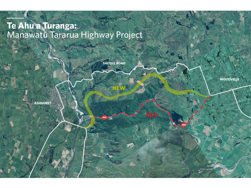 The Manawatu Tararua highway is expected to be completed by 2024. Credit: Isthmus Group.