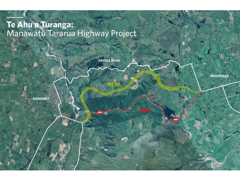 Manawatu Tararua highway